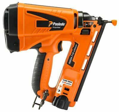 Paslode IM65A Li-ion Gas Powered Cordless Nailer Second Fix Finishing Nail Gun