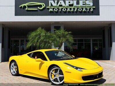 2010 458  2010 Ferrari 458 Italia, Navigation, Back Up Camera, Power Daytona Seats