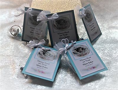 Gifts for Guests Organza Bag Keychain Angel Christening