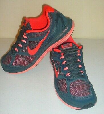dfd7ce56be4 Womens Size 9 Nike 653594 013 Dual Fusion Run 3 Anthracite Running Sneaker  Shoes