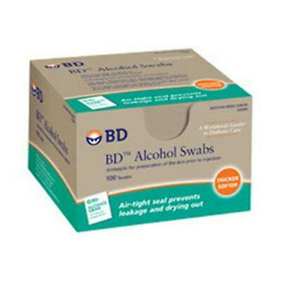 BECTON DICKINSON 1 BX/100 EA Alcohol Swab, Foil Wrapped (100 count) 326895 CHOP
