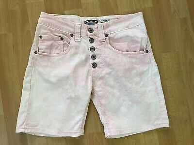 please Shorts, kurze Hose, Rosa used washes, Größe S