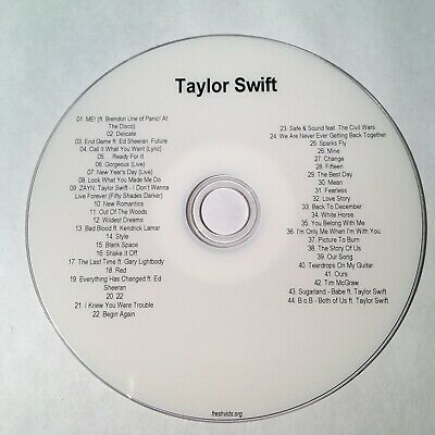 Taylor Swift The Complete Music Video DVD Collection 44 Music Videos
