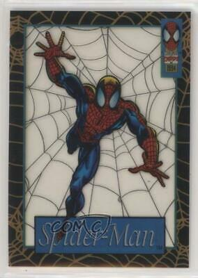 1994 Fleer Marvel Cards The Amazing Suspended Animation #10 Spider-Man Card 5c2