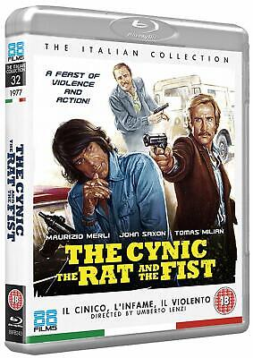 The Cynic, The Rat and The Fist (Blu-ray, 1977, Region Free) *BRAND NEW/SEALED*