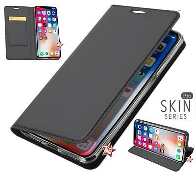 Custodia a Libro Flip Book Cover Bianca per Apple iPhone XS Max -