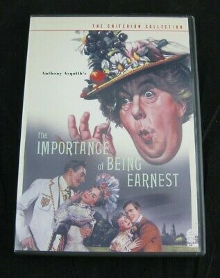 The Criterion Collection IMPORTANCE of BEING EARNEST DVD #158