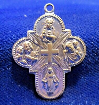 Four Way Cross Silvertone Japan