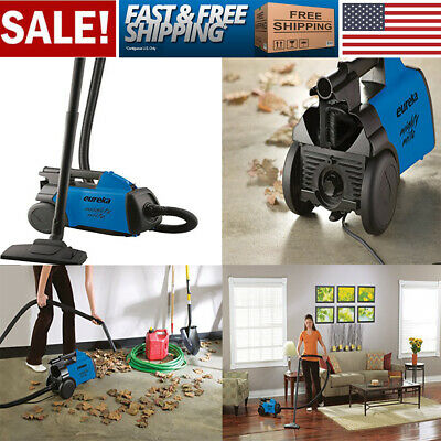 Mighty Bagged Corded Canister Vacuum Cleaner Pet & Blower 10-Amp Weight 9lbs