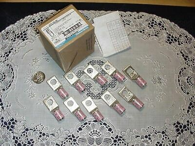 Box of Ten Thomas Betts Blackburn CTL10-38 Copper Compression Lugs 1 Hole Mount