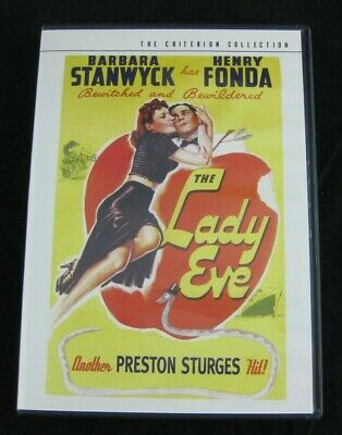 The Criterion Collection THE LADY EVE DVD #103