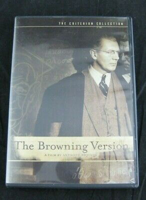 The Criterion Collection THE BROWNING VERSION DVD #294