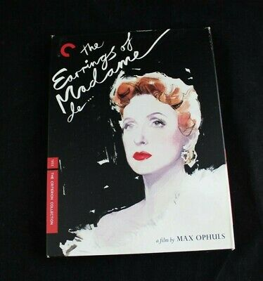 The Criterion Collection THE EARRINGS OF MADAME de DVD #445