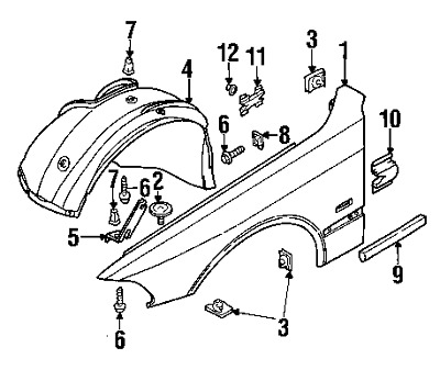 Bmw 528i Door Sill Part Diagram