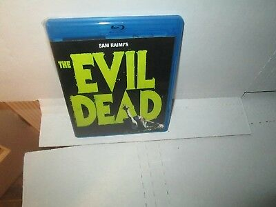 THE EVIL DEAD 1980s Horror Blu Ray BRUCE CAMPBELL Zombies