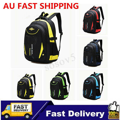 Waterproof Children Kids School Backpack Rucksack Boys Girls Travel Shoulder