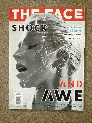The Face Magazine May 2003 Christina Aguilera Marilyn Manson Jake Dinos Chapman