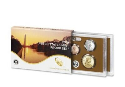 NEW 2019 US Mint Clad PROOF SET 10 Coins ~ Certificate of Authenticity.