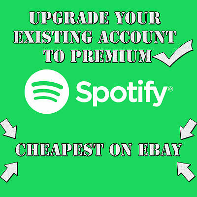 Spotify Premium LIFETIME   UPGRADE YOUR OWN EXISTING ACCOUNT   WORLDWIDE