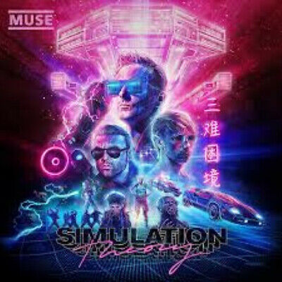 MUSE Simulation Theory CD - Brand New and Sealed (2018)