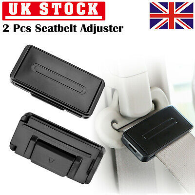 Car Seat Belt Adjuster Car-Styling 1 Pair Auto Car Relax Seatbelt Adjuster Strap Neck Supports Clamp Shoulde Comfort A Seatbelt Clips