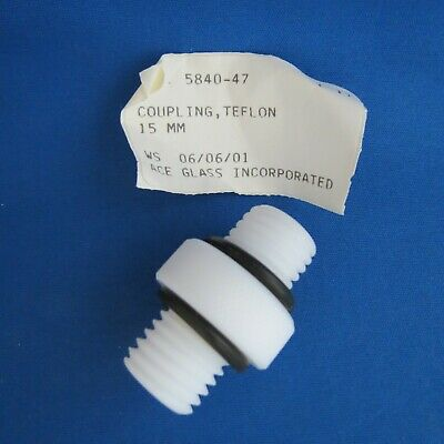 Ace Glass PTFE 15mm Coupling Adapter Back Seal 5840-47