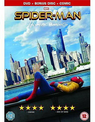 SPIDER-MAN HOMECOMING ; Limited 2-DVD Set with Comic ; Brand New & Sealed