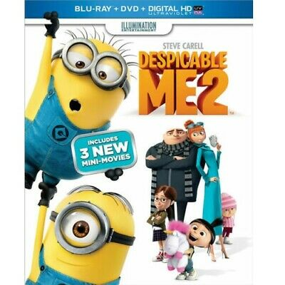 Despicable Me 2 (Blu-ray + DVD + Digital) BUY 3 ITEMS GET 1 FREE
