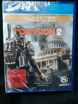 Tom Clancy The Division2 Gold Edition PS4