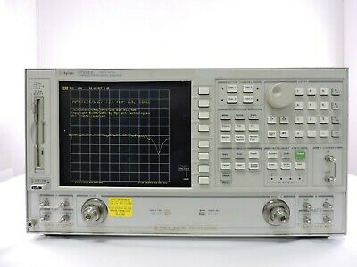 Agilent 8722ES S-Parameter Vector Network Analyzer, 50 MHz to 40 GHz, 90 Day War