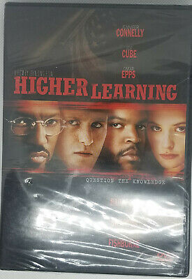 Higher Learning DVD Brand New Factory Sealed Free Shipping!