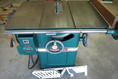 POWERMATIC TABLE SAW - Model 66 - 230V 3HP Motor - In Excellent Condition