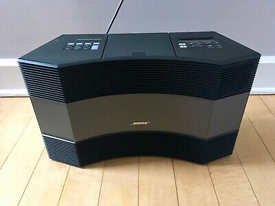 BOSE ACOUSTIC WAVE II Music System With Remote AM/FM Radio, CD Player,  W/Case