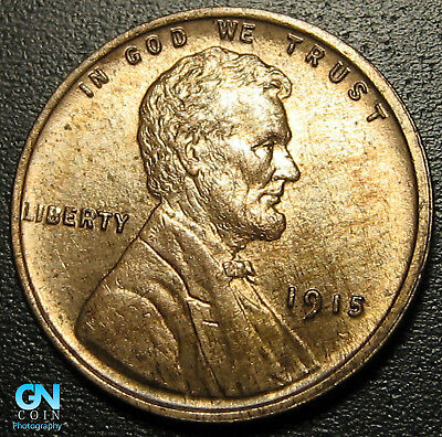 1915 P Lincoln Cent Wheat Penny  --  MAKE US AN OFFER!  #R9406