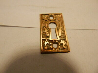 Antique Door Key Holes Escutcheon Brass Eastlake (KH 3)
