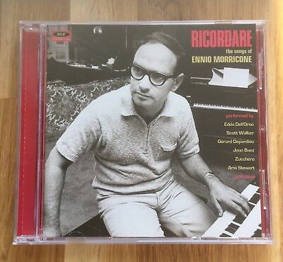 VARIOUS - Ricordare: The Songs of ENNIO MORRICONE (2016 Ace Intl CD Remaster)