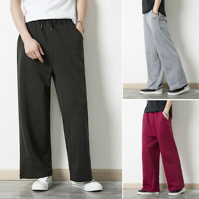 Herrenmode Jogginghose Sporthose Normallack Sweatpants Freizeithose Trousers