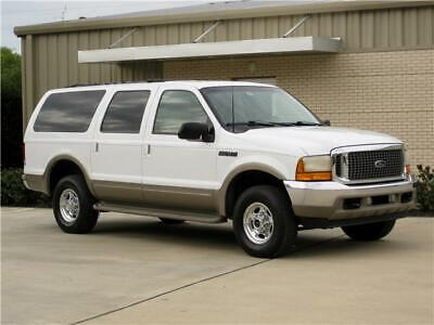2001 Ford Excursion 3RD ROW (LIMITED) 7.3 POWERSTROKE 4x4! 2001 Ford Excursion 3RD ROW ( LIMITED ) 7.3L POWERSTROKE DIESEL 4x4! LOW MILEAGE