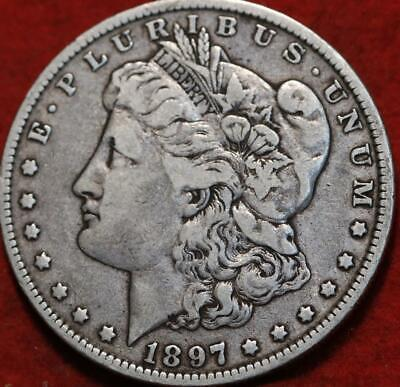 1897-O New Orleans Mint Silver Morgan Dollar
