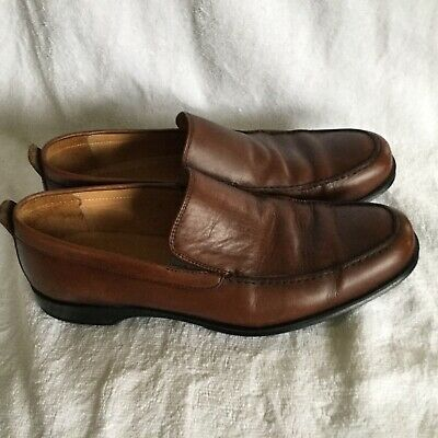 5c4b20fbb9b Coach Corbin Brown Loafers Slip-On Shoes Made in Italy Men s 8.5 B US