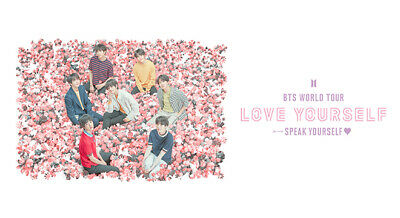 BTS Rosebowl Tickets 5/5/19 Two Tickets Section 15L Row 12