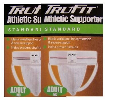 Jockstrap 1 pair TRU-FIT- Athletic-Supporter-Under BOXER-BRIEF-ADULT-MED-32-38