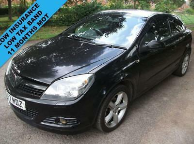 2007 57 Vauxhall Astra 1.6 Sxi 3D 115 Bhp Full Sports Package Low Isnurance