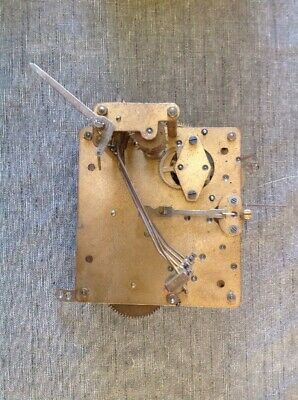 Antique Clock Movement Westminster Chime 13x12cm Plates Leader & Suspension Good