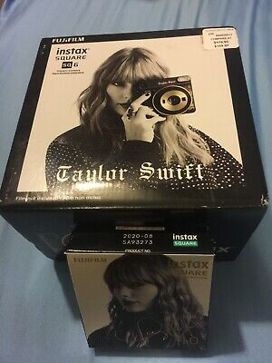 Fujifilm Instax Square SQ 6 Taylor Swift Edition Camera, Brand NEW! ( With Film