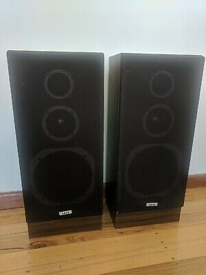 Akai Floor Mounted Vintage Speakers Ts-T55 Electronics Melbourne Pick Up