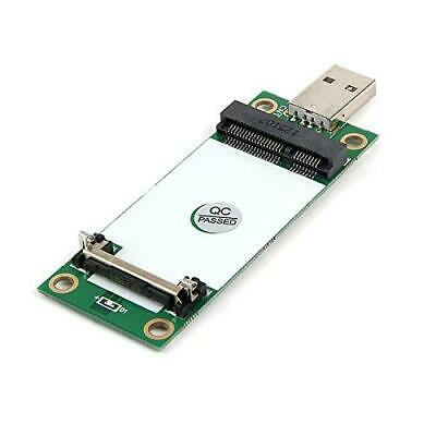 Mini PCIe WWAN Card to USB Adapter with SIM Slot, Mini PCI Express WWAN/LTE/4G M