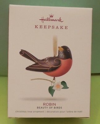 Hallmark 2018 ROBIN #14 in BEAUTY OF BIRDS SERIES NIB