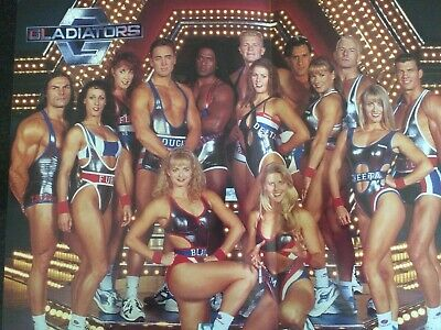 Gladiators Launch Package - Group Photo & 25 Cards Of Members And Disciplines