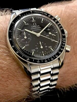Omega Speedmaster Reduced Awesome Moonwatch Mint! Serviced! Full Set! NR!